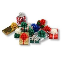 12 Dollhouse Christmas Packages - Product Image