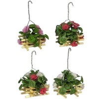 Dollhouse Hanging Geraniums - Product Image