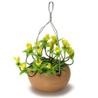 Dollhouse Hanging Yellow Hypericum - Product Image