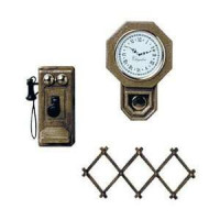 (*) M-570 Wall Accessories Minikit, Brown - Product Image