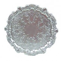 Dollhouse Finished or Unfnished - Round Tray - Product Image