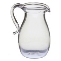 (*) Dollhouse Glass Pitcher - Product Image