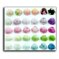 Dollhouse Ice Cream Scoops Poster - Product Image