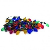 § Sale .50¢ Off - 36 in. Christmas Clear Colored Lights - Product Image