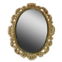 Dollhouse Oval Victorian Mirror - Product Image