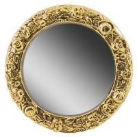 Dollhouse Round Frame Mirror - Product Image