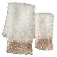 Dollhouse 2 pc Towel Set - Beige - Product Image