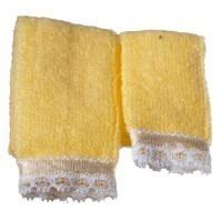 Dollhouse 2 pc Towel Set - Yellow - Product Image