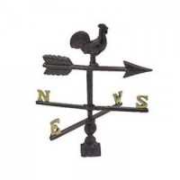 (*) Dollhouse Weathervane(Choice of Finishes) - Product Image