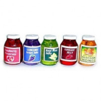 (§) Sale - Set, Honey, Preserves or Jelly Jar(s) - Choice of Style -  - Product Image