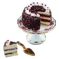 Dollhouse Black Forest Cake Set - Product Image