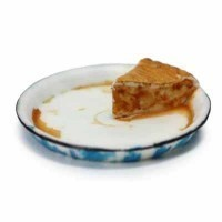 (**) Dollhouse Pie Slice in Pie Pan- Assorted Flavors - - Product Image