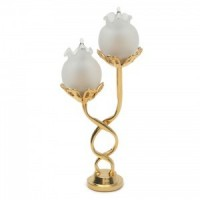 Dollhouse Twisted Lamp - Product Image