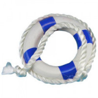 Dollhouse Life Preserver in Blue or Red - Product Image