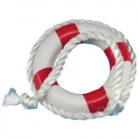 Small Life Preserver in Blue or Red - Product Image