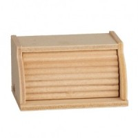 (**) Dollhouse Wooden Bread Box - Product Image