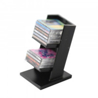 (*) Dollhouse CD Rack with CDs - Product Image
