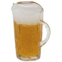 (*) Dollhouse Pitcher of Beer - Product Image