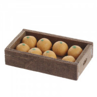 (**) Dollhouse Filled Crate of Oranges - Product Image