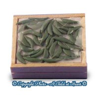 (**) Dollhouse Filled Crate of Green Beans - Product Image