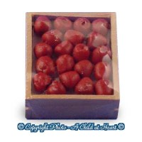 Dollhouse Filled Crate of Apples - Product Image
