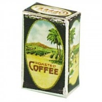 § Disc .60¢ Off - Dollhouse Vintage Coffee Box - Product Image