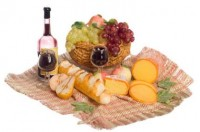 Dollhouse French Bread & Fruit Picnic - Product Image