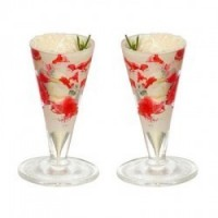 Dollhouse 2 pc. Strawberry Shake / Float - Product Image
