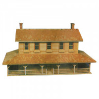 Dollhouse Mountain House Shell (Kit) - Product Image