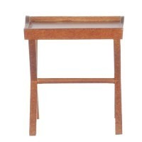 Dollhouse Hitchcock End Table in Walnut - Product Image