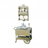 Dollhouse Tea Cart F-160 (Kit) - Product Image
