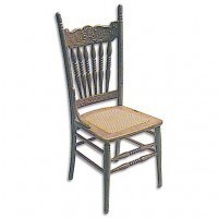Victorian Cane Seat Chair M-540 (Kit) - Product Image