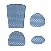 (*) Miniature Dollhouse Chair Cushion (Kit)- Choice of Color - - Product Image