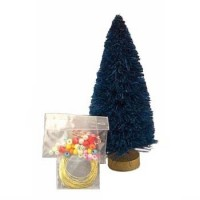 (*) Dollhouse 4 or 5 1/2   Christmas Tree/TrimD.I.Y. (Kit) - Choice of Style - Product Image