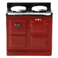 Dollhouse Aga Stove - Small- Choice of Color - - Product Image