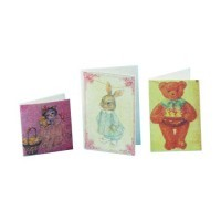 (*) Dollhouse Miniature Easter Cards - Product Image