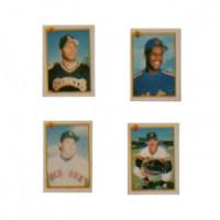 (**) Dollhouse Miniature Baseball Cards - Product Image