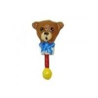 (*)  Dollhouse Miniature Baby Rattle- Choice of Style & Finish - - Product Image
