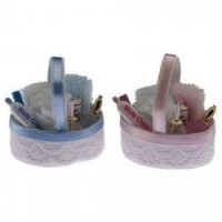 (*) Dollhouse Filled Bath Basket - Product Image