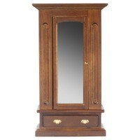 Dollhouse Mirrored Armoire - Product Image