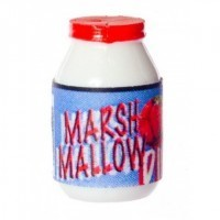 § Disc .30¢ Off - Modern Marshmallow Dip Jar - Product Image