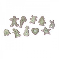 (*) Dollhouse Vintage Style Cookie Cutter(s) - Product Image