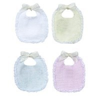 Dollhouse Baby Bib - Product Image