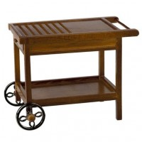 (*) Dollhouse Patio Rolling Cart - Product Image