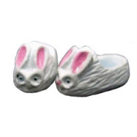 (*) Dollhouse Kid's Bunny Slippers - Product Image