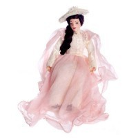 Dollhouse Susan Porcelain Doll - Product Image