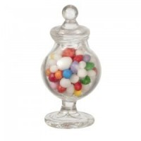 Glass Apothecary Jar of Candy - Product Image