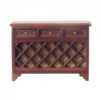 Dollhouse Wine Steward Console - Walnut - Product Image