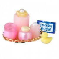 (*) Dollhouse Nursery Tray - Pink - Product Image