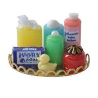 (*) Dollhouse Nursery Tray - Multi Color - Product Image